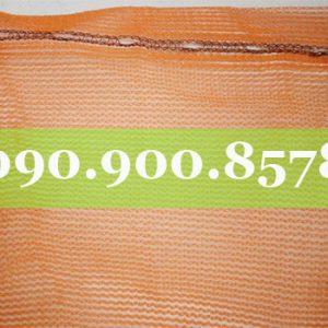 Lưới che công trình màu cam